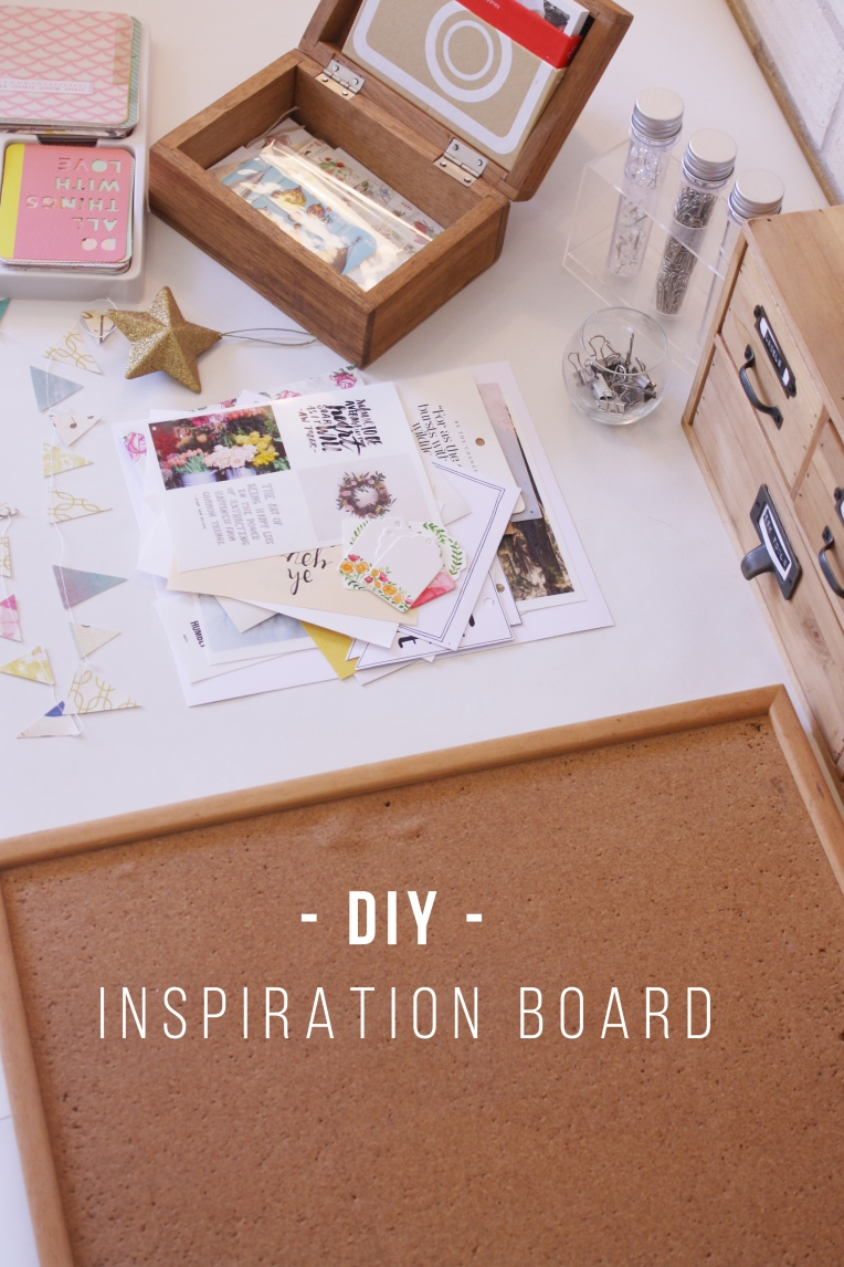 DIY Inspiration Board – Rebecca Lee Creative